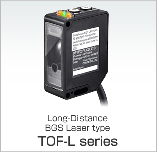 Long-Distance BGS Laser type TOF-L series
