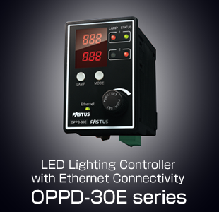 LED Lighting Controller with Ethernet Connectivity OPPD-30E series