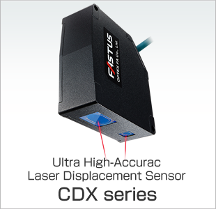 Ultra High-Accuracy Laser Displacement Sensor CDX series