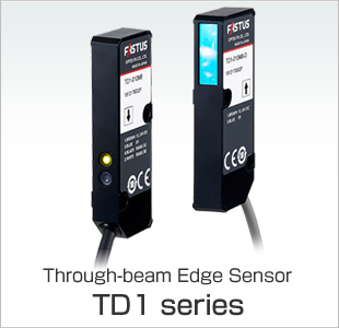 Through-beam Edge Sensor TD1 series