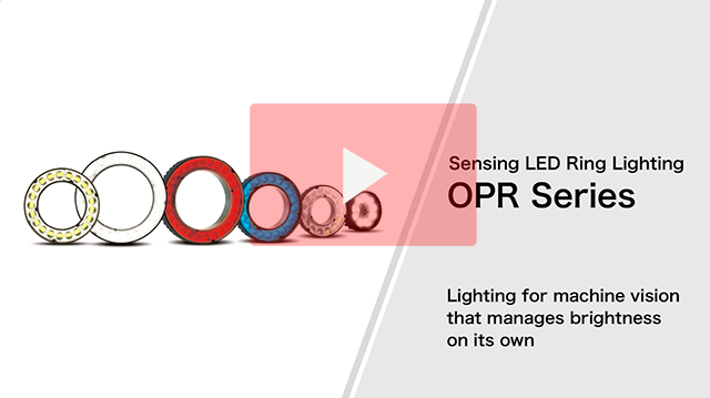 Led lighting sensing led ring lighting opr series feature built in falux brightness variation correction circuit included in all models ccuart Gallery