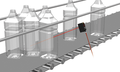 Detecting plastic bottle stuck at a place on the conveyer