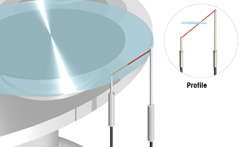 Detecting glass wafers